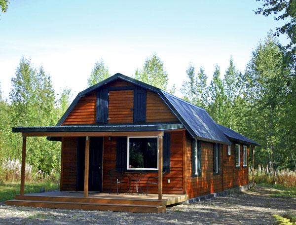 Talkeetna Denali View Lodge Our Cabins
